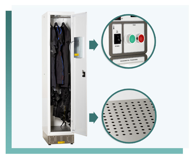 vestiaire electrostimulation